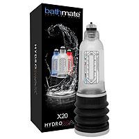 Компактная гидропомпа Bathmate Hydromax X20