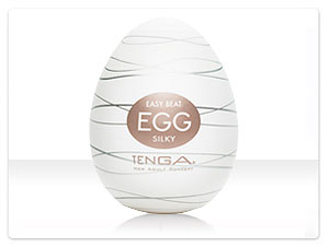 Мастурбатор Tenga Egg Silky