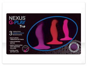 Набор массажеров простаты Nexus G-Play Trio