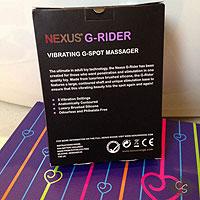 Массажер простаты Nexus G-Rider