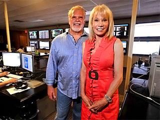 Стив Шубин с женой Кэти на работе